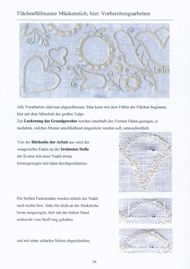 Grundlagen der Schwaelmer Weissstickerei 4 / 8