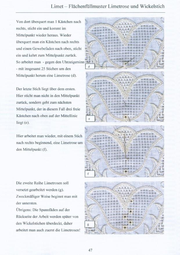 Grundlagen der Schwaelmer Weissstickerei 6 / 8