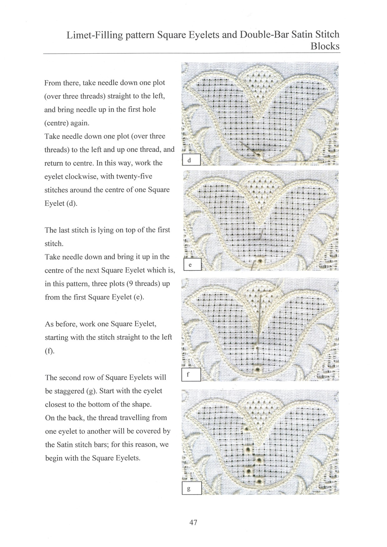 Basic Principles of Schwalm Whitework - for left-handed 6 / 8