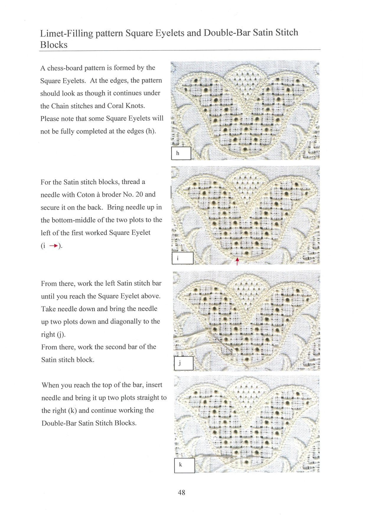 Basic Principles of Schwalm Whitework - for left-handed 7 / 8