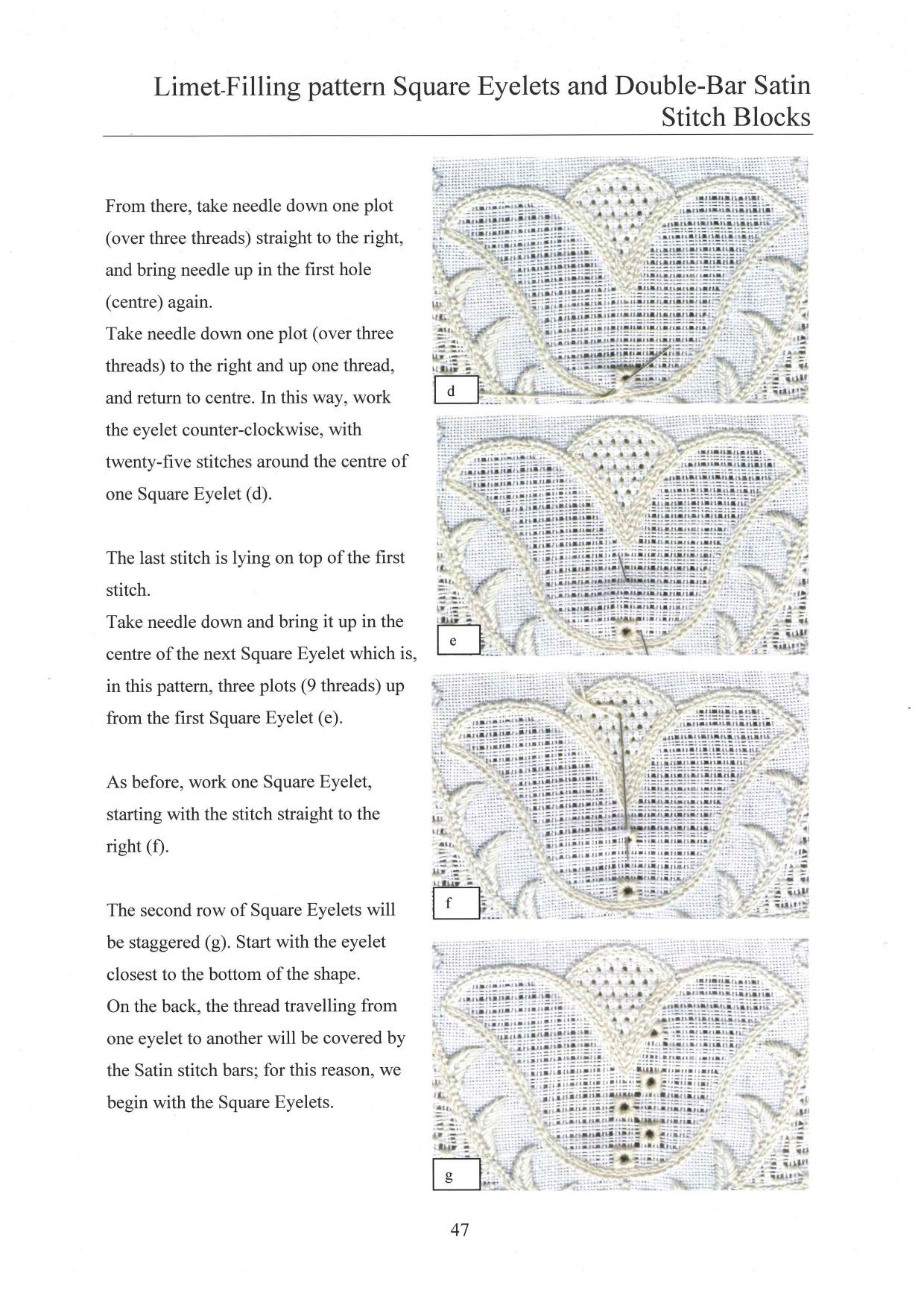 Basic Principles of Schwalm Whitework 6 / 8