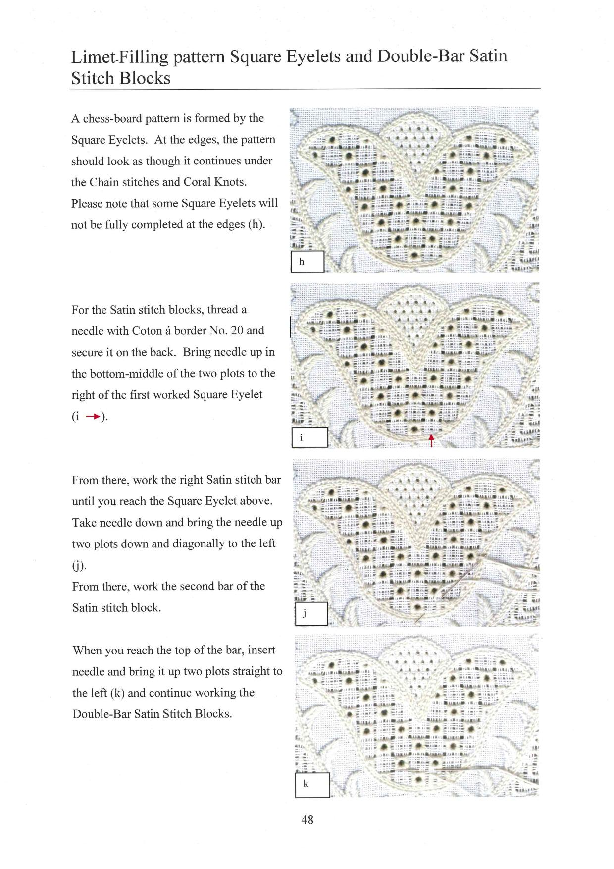 Basic Principles of Schwalm Whitework 7 / 8