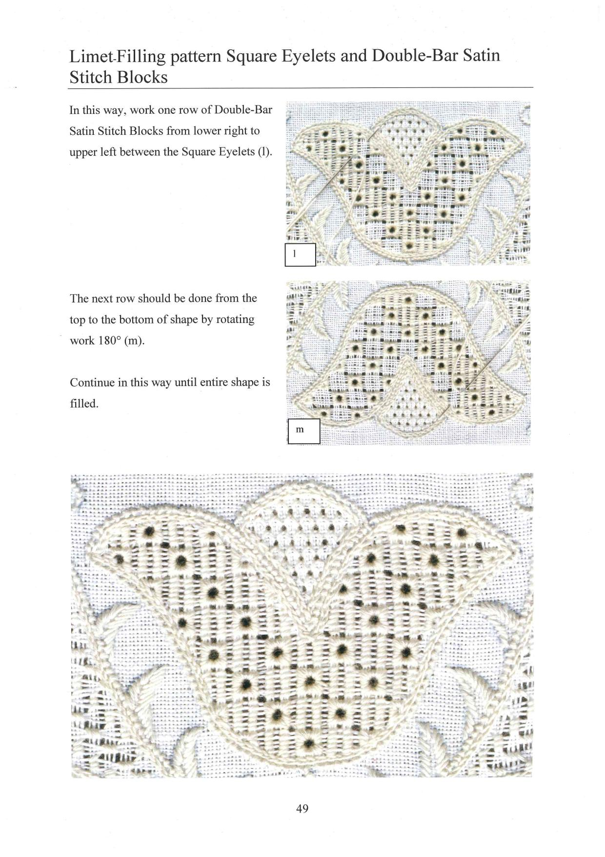 Basic Principles of Schwalm Whitework 8 / 8