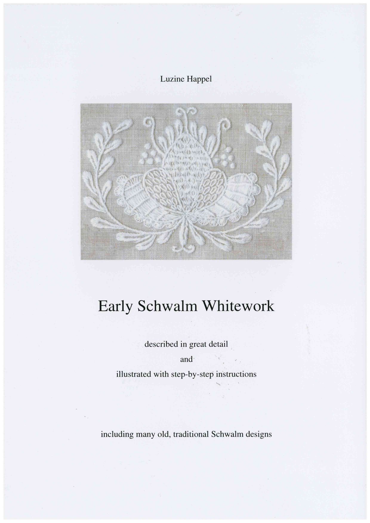Early Schwalm Whitework 1 / 7