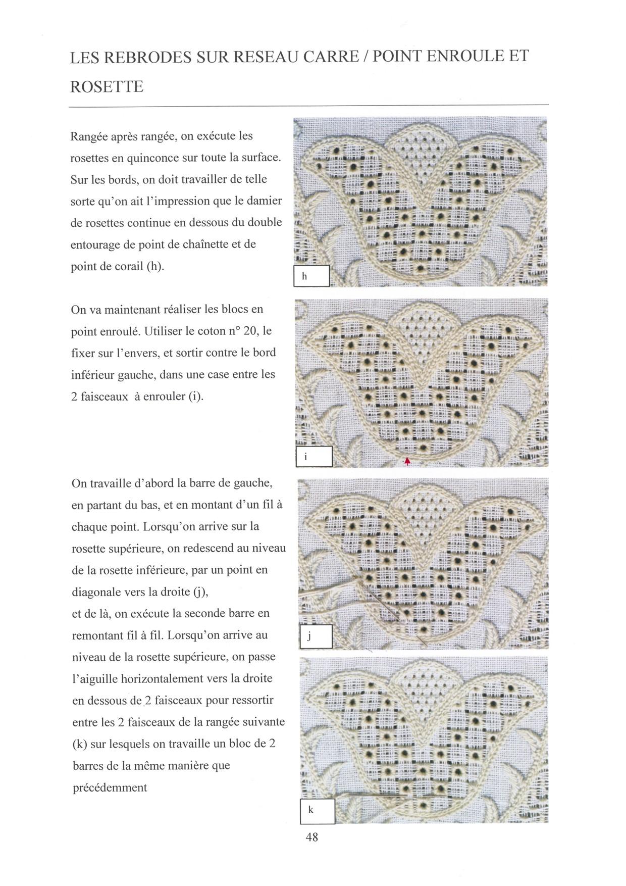 LES BASES DE LA BRODERIE DE SCHWALM - for left-handed 7 / 8