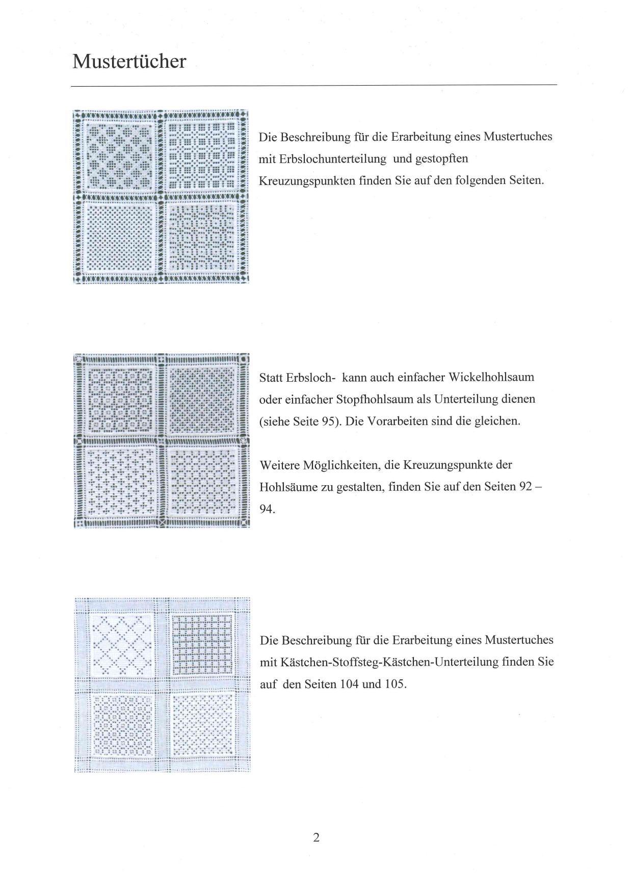 "Mustertücher ""Lichte Muster"" 5 / 8"