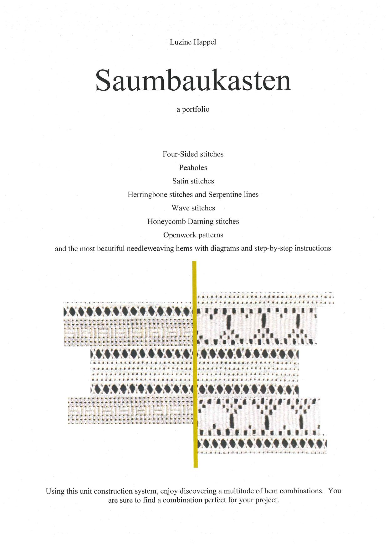 Saumbaukasten - English 1 / 4