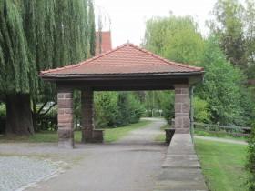 Am Schwanenteichpark in Eschwege