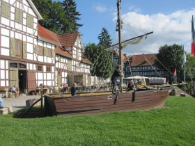 Am Werrahafen in Wanfried