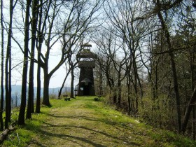 Lookout tower at the Roßkopf