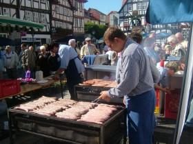 Beim Wurstfest in Eschwege dreht sich alles nur um Wurst
