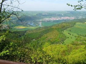 Viwe from Heldrastein to Treffurt