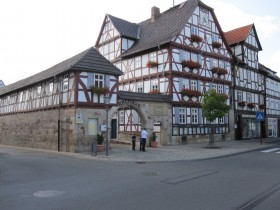 the townhall in Wanfried