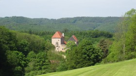 Die Tannenburg - the Tanneburg castle