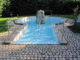Die Wassertretanlage bei Niederdünzebach