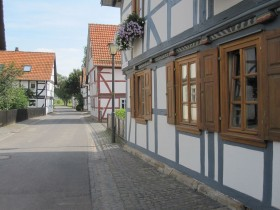 half-timber houses in Altenburschla (2)