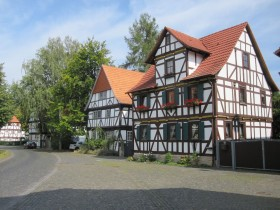 half-timber houses in Altenburschla