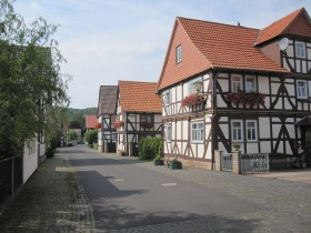 half-timber houses in Altenburschla (3)