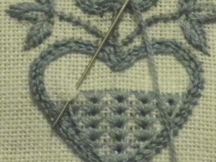 stitching the motifs 4