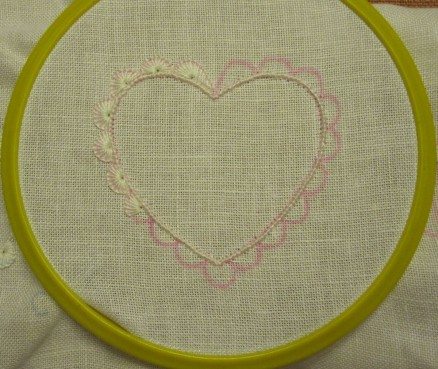 Schlingstiche mit Prym | Blanket stitches with Prym