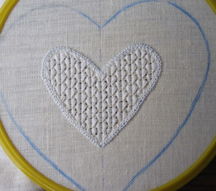 gesticktes Muster | embroidered pattern