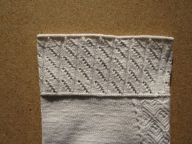 Börtchen mit Lochmuster | border with peekaboo design