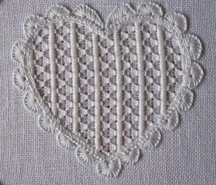fertiges Muster ungewaschen | finisched pattern before laundry