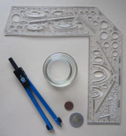 Hilfsmittel zum Zeichnen | utilities for drawing