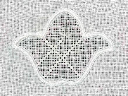 Rosenstichraster   Rose stitch grid
