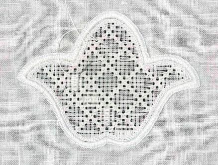 Wickelstichstngen   Satin stitch bars