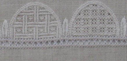 fertiger Bogenrandabschnitt | finished part of the arch border