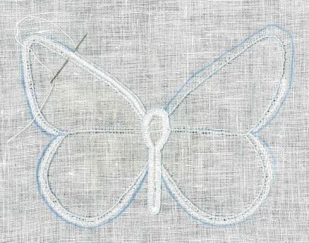 Knötchen-, Ketten- und Schlingstiche   Coral Knots, Chain- and Blanket stitches