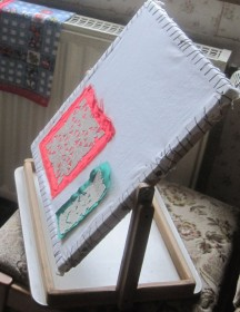 rotating frame for template embroidery 2