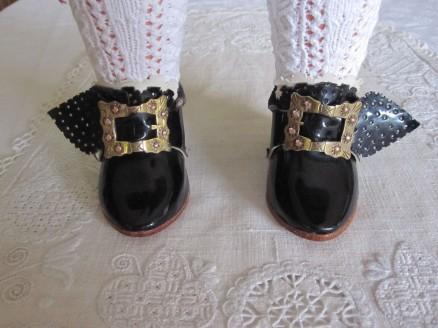 mit Schnallen geschlossene Schuhe | shoes closed with buckles