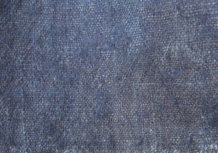 """Beiderwand"" fabric, dyed with indigo"