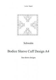 Bodice Sleeve Cuff Design A4
