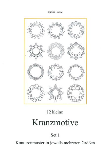 12 kleine Kranzmotive Set 1
