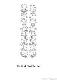 Vertical Bird Border