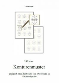24 kleine Konturenmuster - download