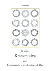 12 kleine Kranzmotive Set 2 - download