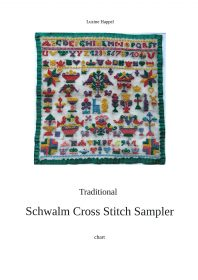 Traditional Schwalm Cross Stitch Sampler