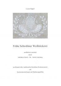 Frühe Schwälmer Weißstickerei