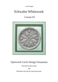 Lesson #3 - Openwork Circle Design Ornaments - download