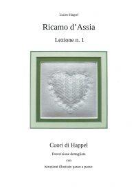 Ricamo d'Assia - Lezione n. 1 - Cuori di Happel