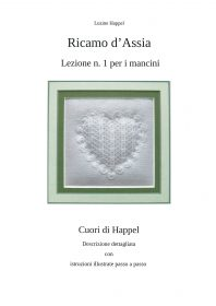 Ricamo d'Assia - Lezione n. 1 per i mancini - Cuori di Happel